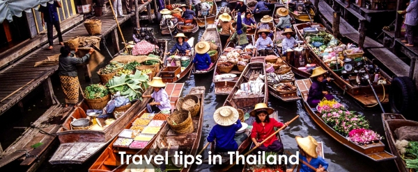 Travel tips in Thailand