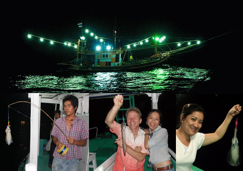 Night squid fishing in Phu Quoc. Source: ivivu.com