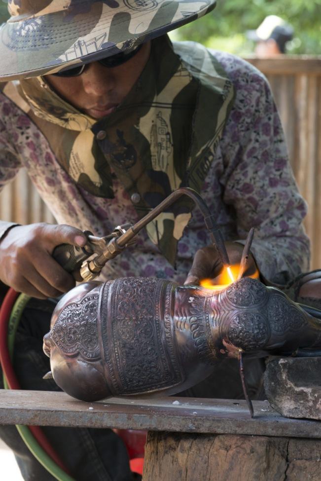 Cooper Art Making - Cambodia