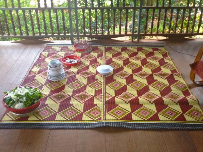 Woven mat - Cambodia