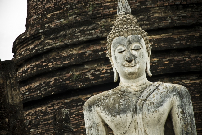Shukotai Thailand buddha statue
