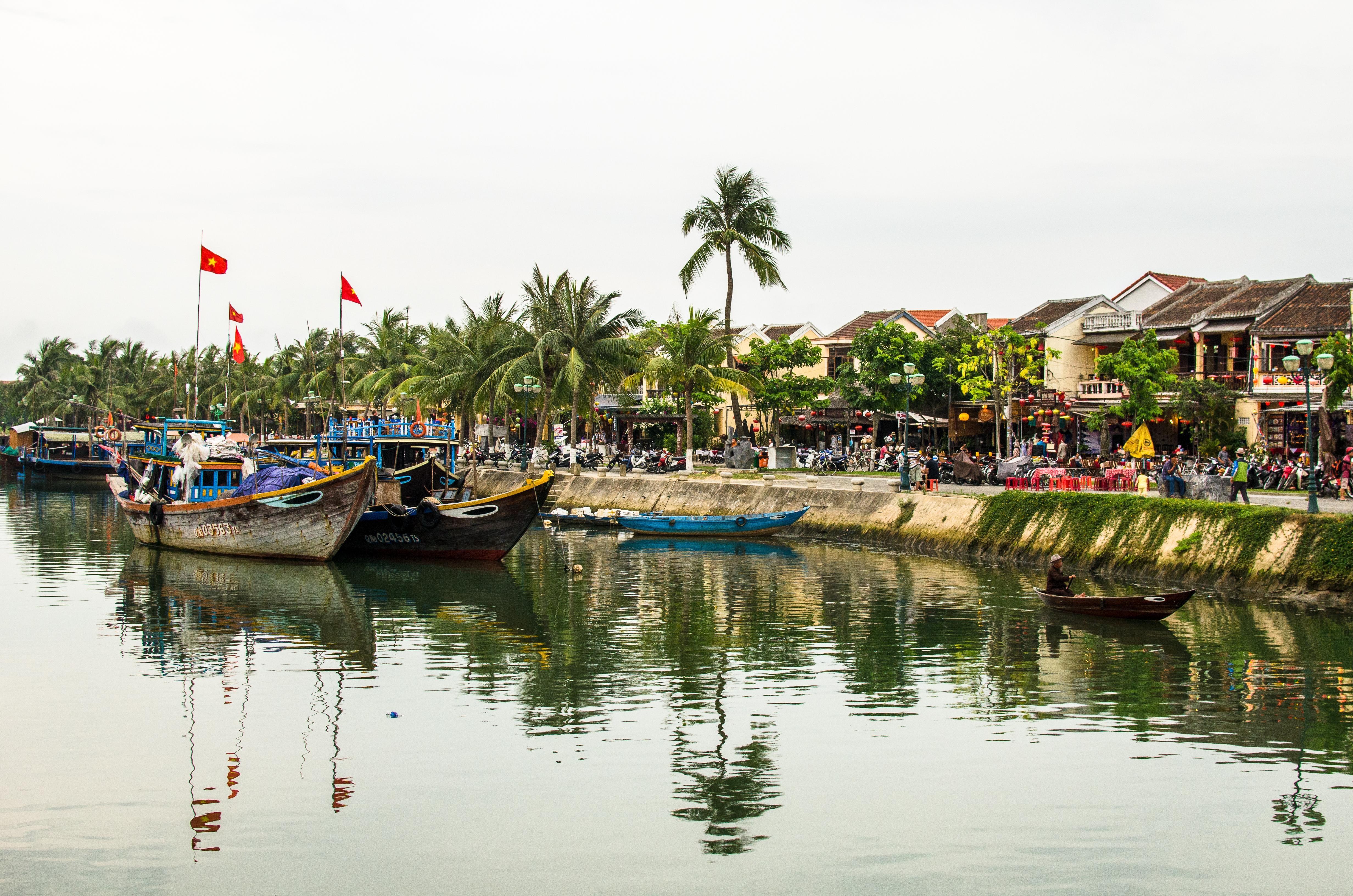 Hoi An - Thu Bon River
